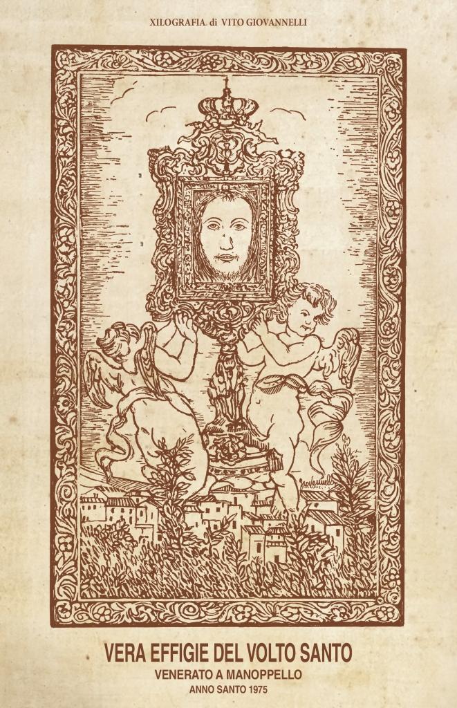 Vera effigie del Volto Santo – Xilografia di Vito Giovannelli